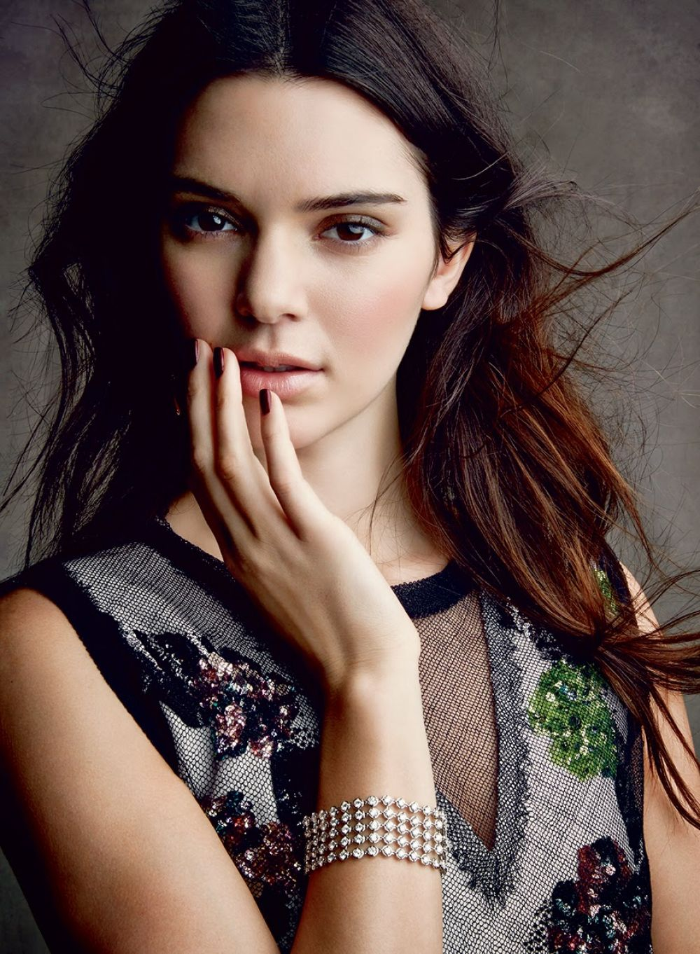 kendall jenner voguem magazine photoshoot by patrick demarchelier 1