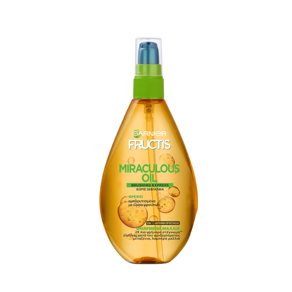 Garnier Fructis Miraculous Oil Brushing Express