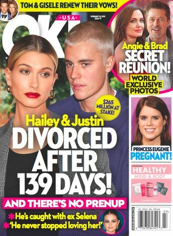Justin Bieber Hailey Baldwin Divorce
