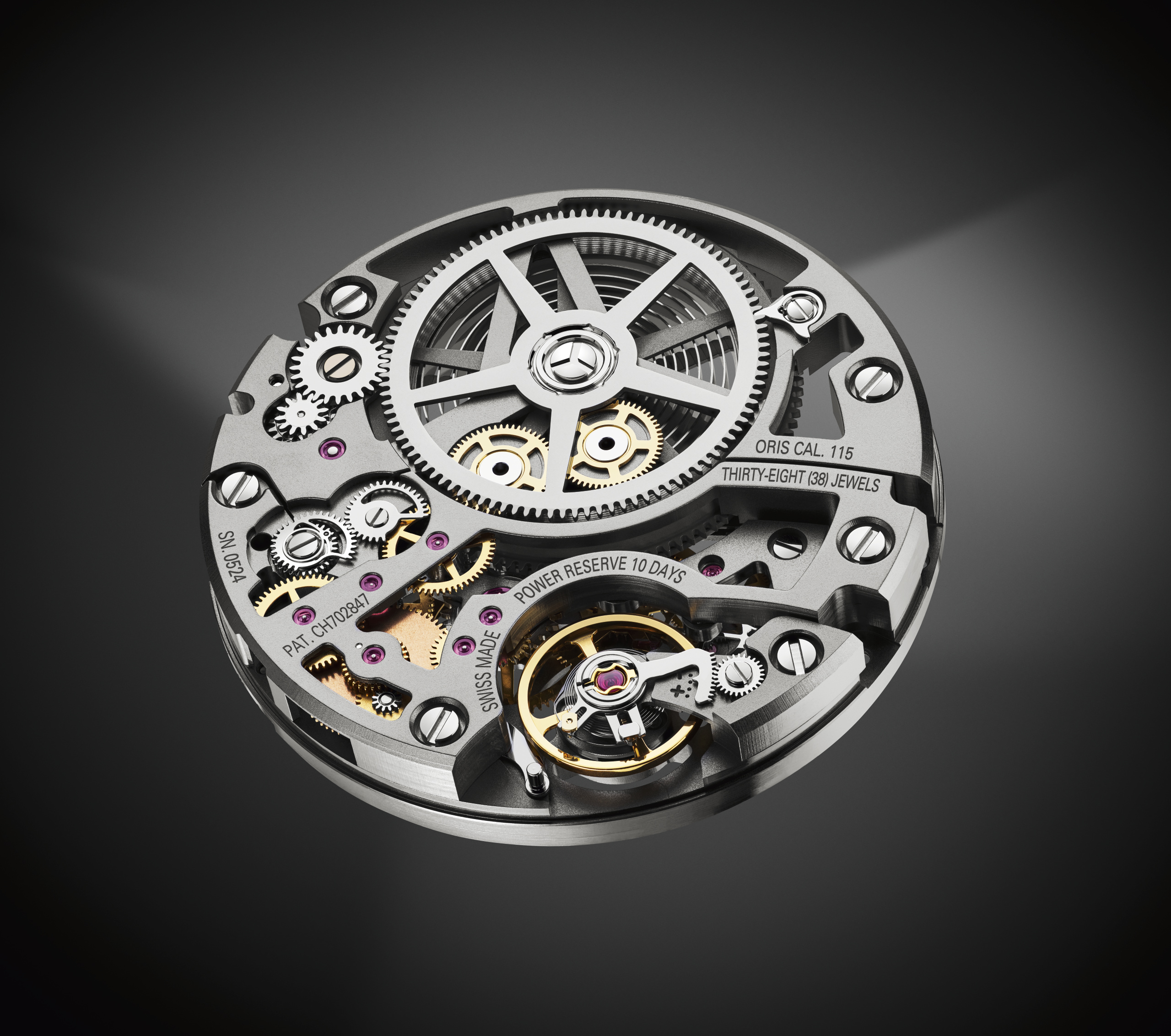 Oris Movement Calibre 115 HighRes 10037